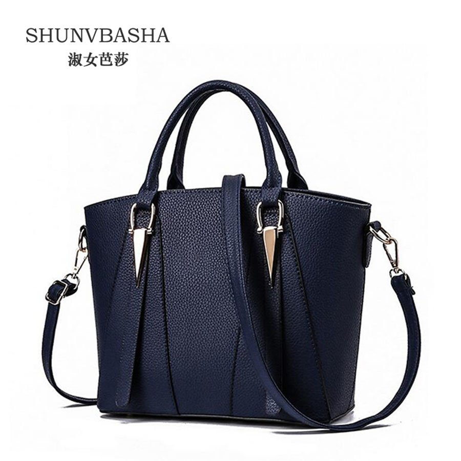 ФОТО Single Shoulder Bags For Ladies Sac A Main Women Pu Leather Messenger Bags Feamle Black Gray Top-Handle Bags ACE8387