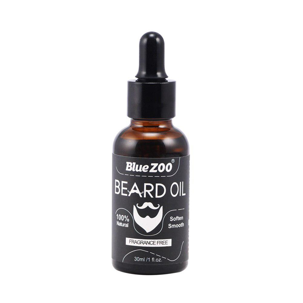 BellyLady Fragrance Free 30ml Men Growth Beard Oil Organic Beard Cream Conditioner for Groomed Growth