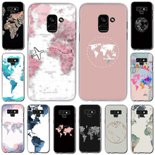 Get more info on the Travel in the world map Hard Phone Cover Case For Samsung Galaxy A3 A5 2016 2017 A7 A8 A9 2018 A 10 30 40 50 70