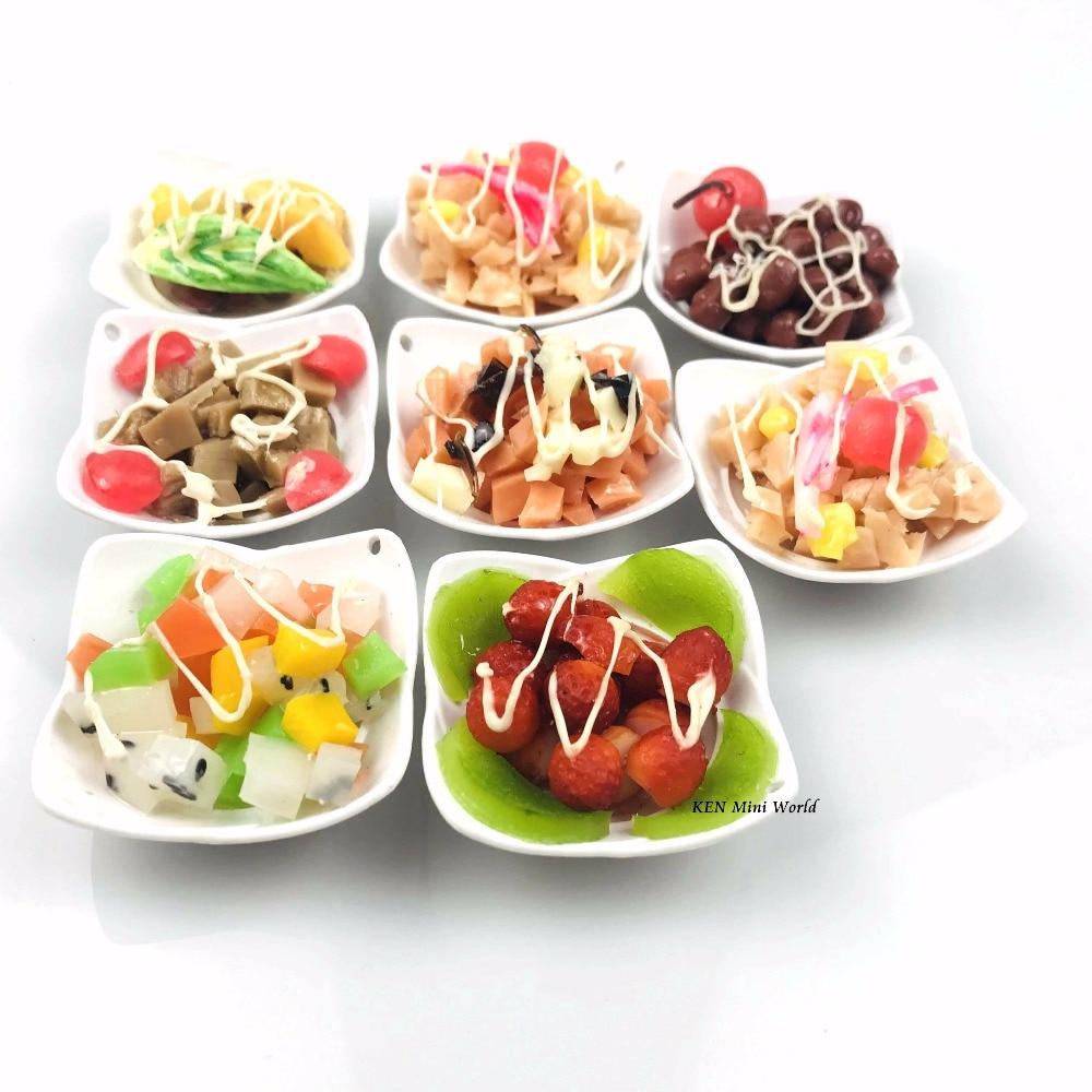 1//6  Blythe Dollhouse Miniature shrimps noodle Bowl Food Toy GVUS