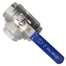 Высокая Quality2 » 3 разъём(ов) женский BSPT 316 SS типа т Mountin площадку шаровой кран винил ручка WOG1000