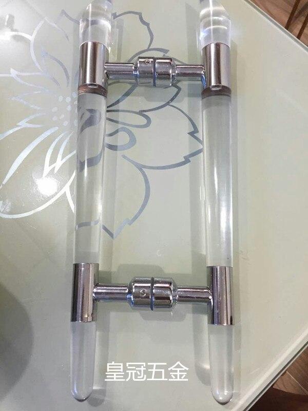 The Door Frameless Glass Door Handle Shower Room Office