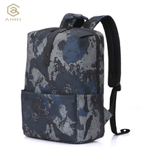 AHRI Men Women Backpack School Bag for Teenagers College Waterproof Oxford Travel Bag 14inch Laptop Back packs Camouflage Backpa