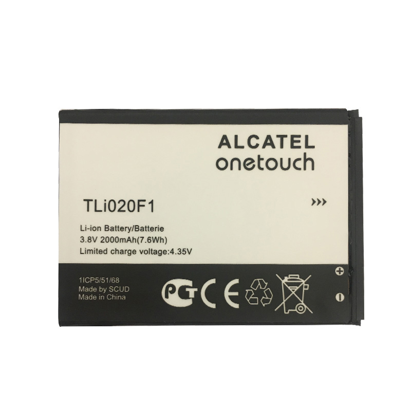New 2000mAh TLi020F1 Battery For Alcatel U5 5044D 5044Y 5044I 5044T 5047D 5047Y 4047D Mobile Phone Batteries