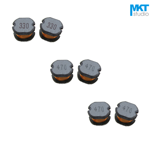 20Pcs Free Shipping SMD 10*9*5.4mm Chip Choke Coils Wire Wound Power Inductor 100/120/150/220/270/330/390/470/560/680/820uH image