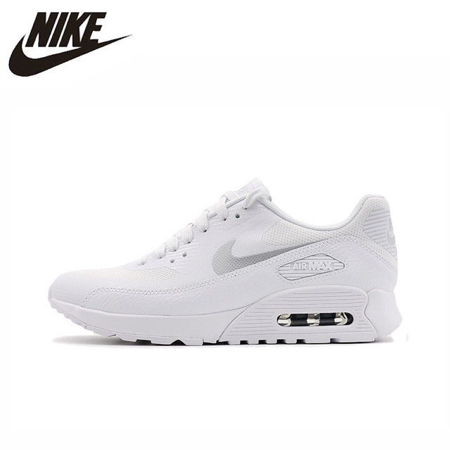 Original New Arrival Authentic NIKE AIR MAX 90 Ultra 2.0 Women's Breathable Running Shoes Sneakers Good Quality 881106-101