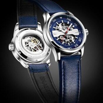 2018 OCHSTIN Sport Design Montre Hommes Montres Top Marque De Luxe Montre Homme Horloge Hommes Automatique Squelette Montre