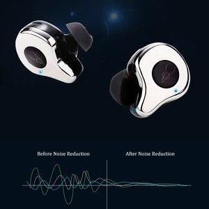 Image 4 - HIFI słuchawki douszne bezprzewodowe z bluetooth podłączyć dwa urządzenia w tym samym czasie, z opłat Box