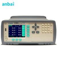 AT4524 многоканальный Температура метр Температура Регистраторы термопары J/K/T/E/S/N /B TFT ЖК дисплей полноцветный ЖК дисплей Дисплей