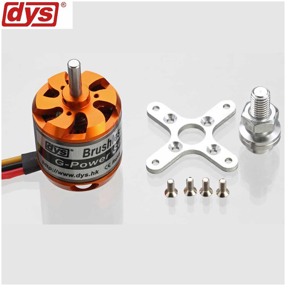 1pcs DYS D3536 910KV 1000KV 1250KV 1450KV 2-4S Brushless Motor for Multirotor RC Models Toys rctimer bc3542 3542 1000kv 1250kv 1450kv outrunner brushless motor 5 0mm shaft for rc quadcopter diy fpv multirotor motors