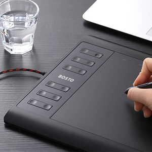Image 5 - Bosto T8 10x6in 그래픽 태블릿 에 Draw Art 정 대 한 된 로고와 와 된 로고와 Glove 및 배터리 free 펜 된 로고와 대 한 태블릿