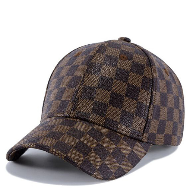 142224d9921 XEONGKVI Europe America Contracted Leather Baseball Cap Spring ...