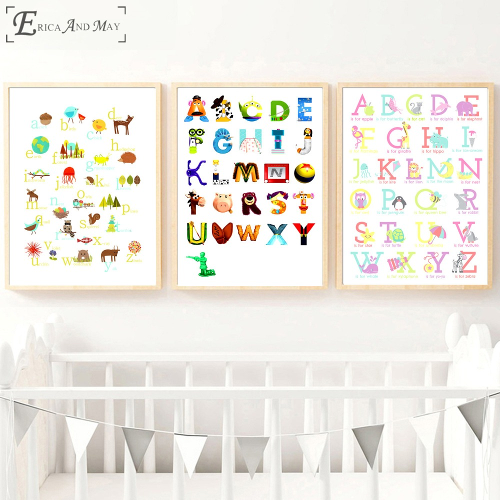 Anchor Abstract Set On Sale Poster Wall Painting Living Kids Room Abstract Canvas Art Pictures For Home Decor No Frame