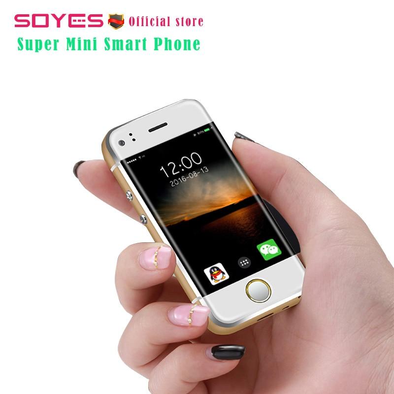 8288ed5e156 Super mini Android smart phone original SOYES 6S Duad Core 5.0MP Dual  camera Dual SIM mobile cell phone unlocked smartphone. В избранное. gallery  image