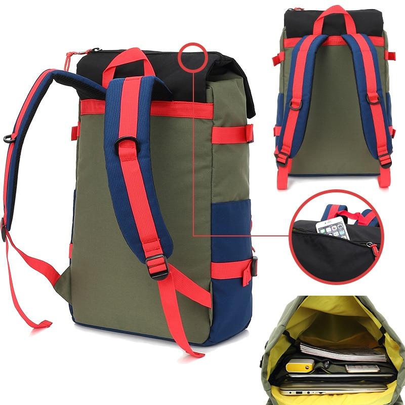 KINGSLONG Travel Men Waterproof Drawstring Bag America Backpack for Laptop Male Large Capacity Bag for Teenagers KLB1342-6 10