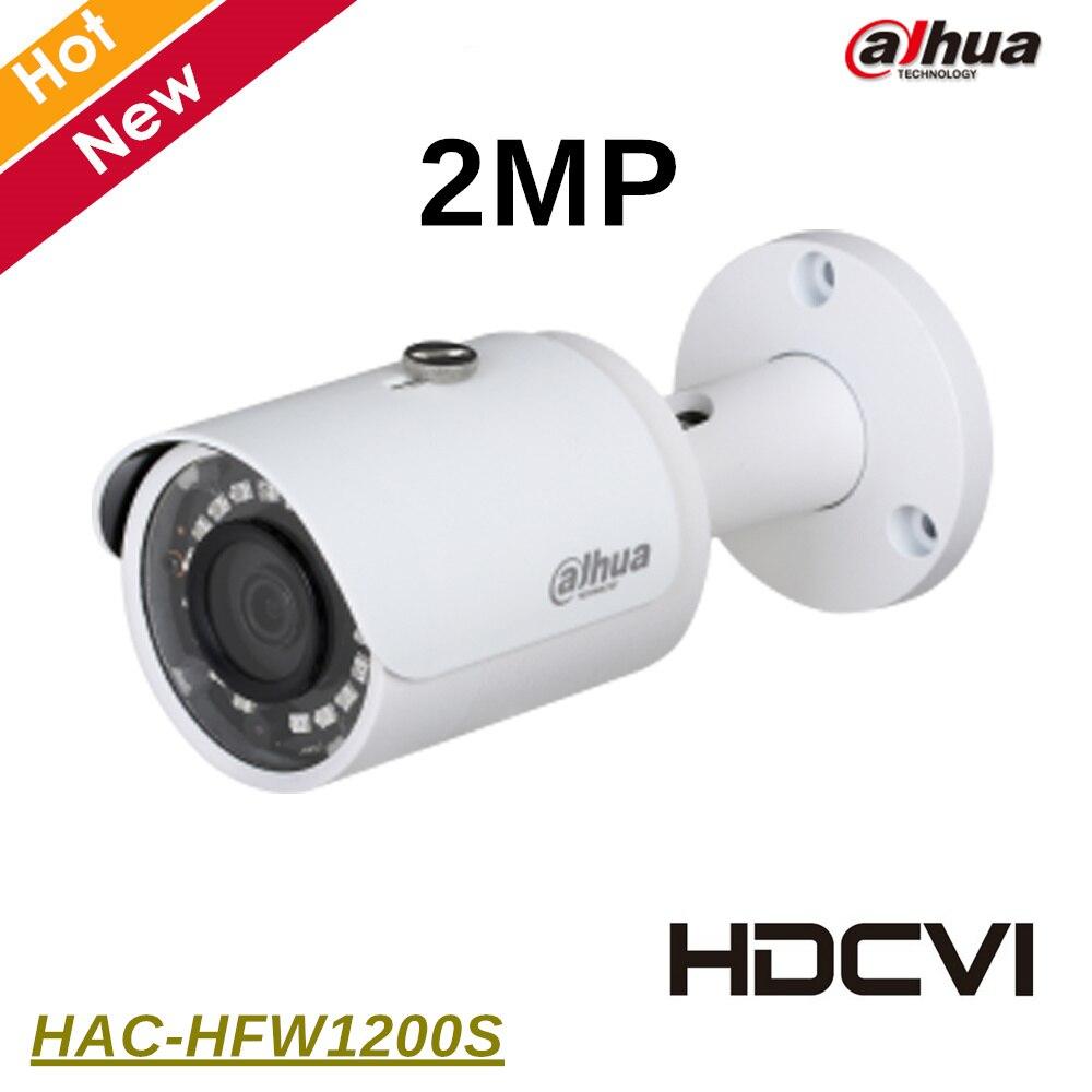 Dahua HAC-HFW1200S 2MP HDCVI IR Bullet Camera IR length 30m 1080P Outdoor IP67 DC12V Original export version without logo dahua hdcvi 1080p bullet camera 1 2 72mp 1080p ir 80m ip67 hac hfw1200d security camera dhi hac hfw1200 bullet cvi camera