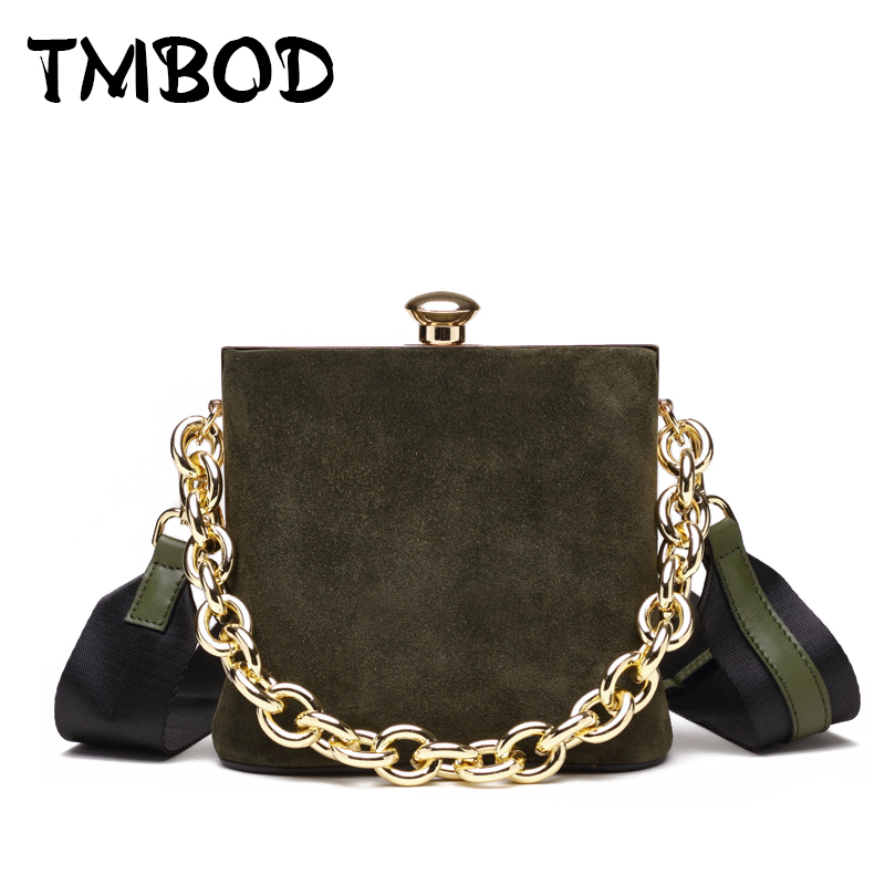 Hot 2018 Classic Scrub Tote with Chain Box Tote Crossbody Bags Women Split Leather Handbags Lady Messenger Bag For Female an868 2017 new classic messenger bags with metal ring popular tote lady split leather handbags women chain shoulder bags bolsas qn262