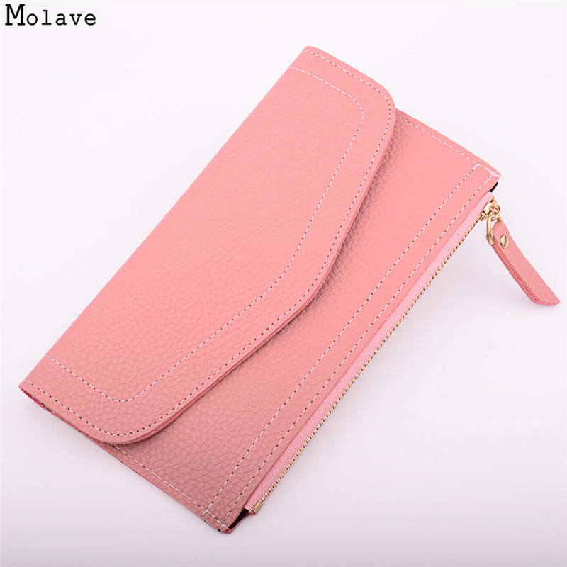 Brand PU Leather Wallet For Women Long thin Purse Cowhide multiple Cards Holder Clutch bag Fashion Standard Wallet Female se182 pu leather wallet heels wallet phone package purse female clutches coin purse cards holder bag for women 2415