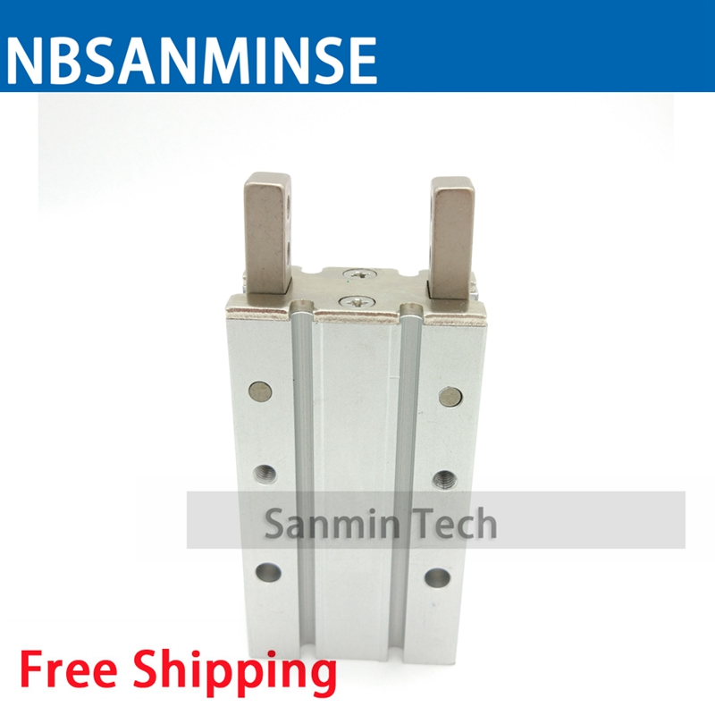 купить Free Shipping Cylinder Double Acting MHY2 Type 180 Angle Angular Style Air Gripper Cam Style High Quality Sanmin по цене 3035.04 рублей