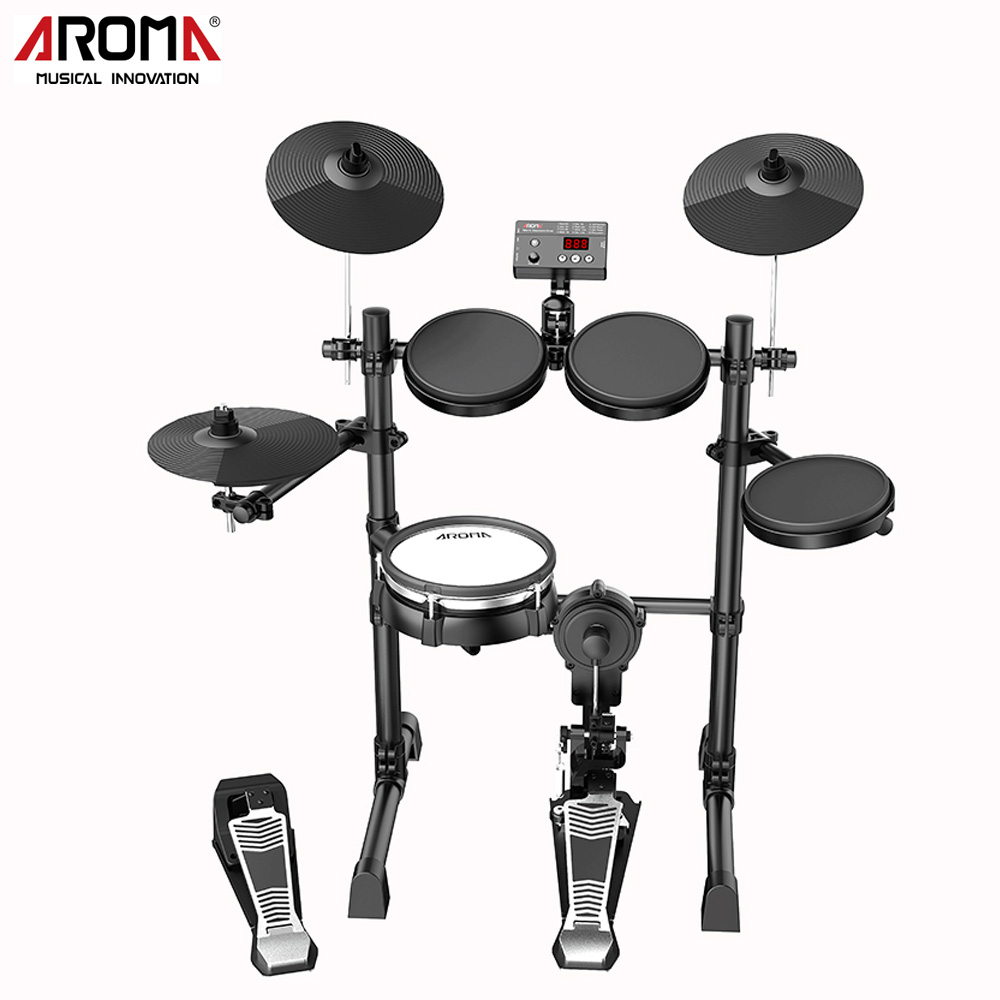 TDX-15S Electronic Drum Set kit Percussion Music Instruments Build-in Metronome 12 Groups Drum Tones 43 Groups Accompaniment