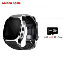 GoldeSpike Newest wearable devices M26S support SIM / TF card Bluetooth Remote camera smartwatch phone VS iwatch dz09 Q18s