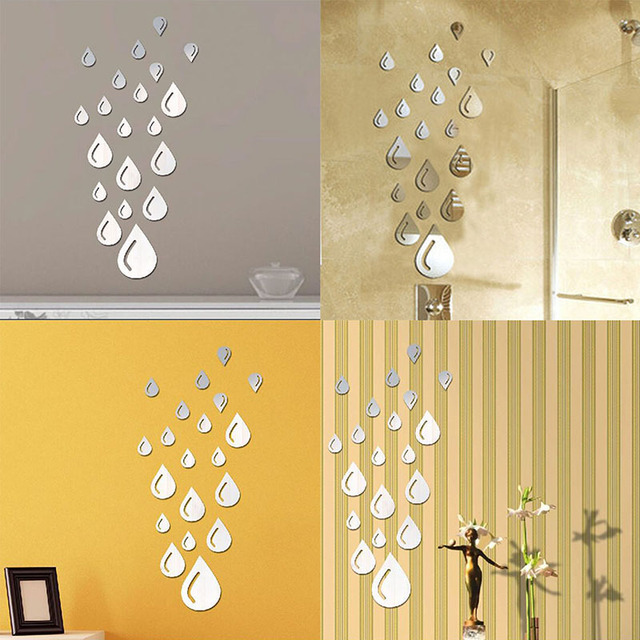 DIY Home Wall Stickers Decal Mural Wall Sticker Home Decor Acrylic ...