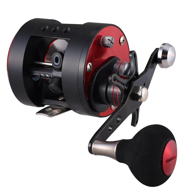 HiUmi троллинга рыболовная GLA200 GLA300 черный, красный левой и правой руки литья море рыболовные катушки морской Мультипликаторной катушка
