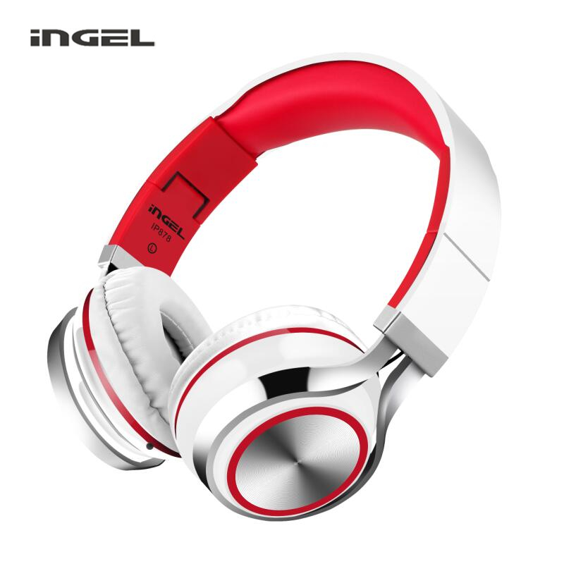 INGEL IP878 Wired Gaming Headphones Foldable Bass Headsets Stereo MP3 Earphones For iphone 6s 7s Plus