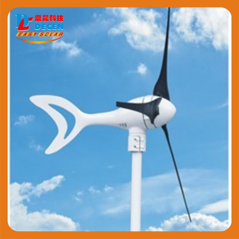 MAYLAR@ 400W High Efficiency Wind Generator Small Size Low Weight. Low Noise Easy Install 3 Blades CE Certificate