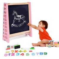 Children's 3 in 1 Tabletop Easel Magnetic Drawing Board Early Education Multi functional Puzzle Calculating Writing Toy