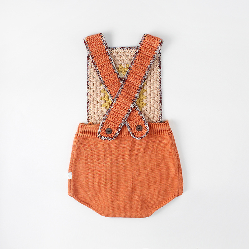Gretel Knit Romper Styly Coyote