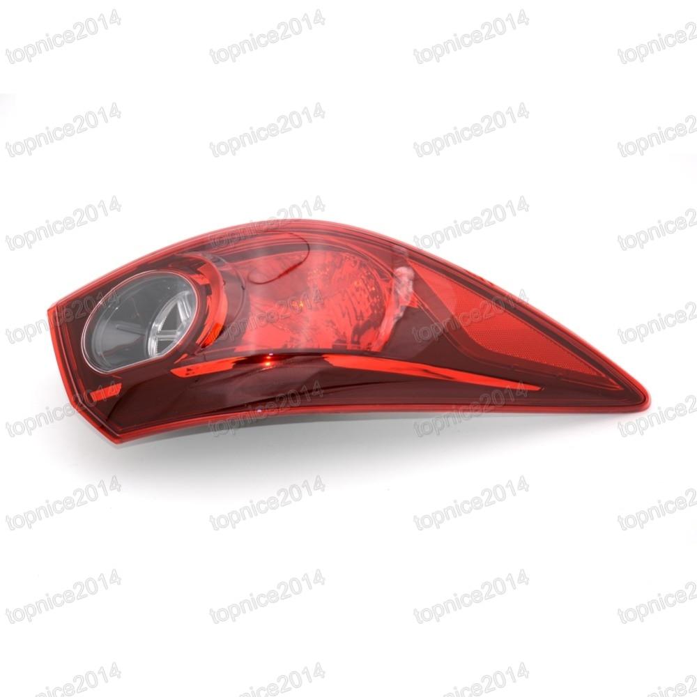 1шт левый Наружный задний фонарь задний фонарь задний фонарь BKC3-51-160 для Mazda 3 седан AXELA 2014
