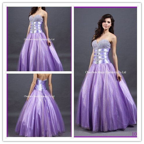 Purple Ball Gown Wedding Dresses Plus Size Long Sleeve Wedding Gowns