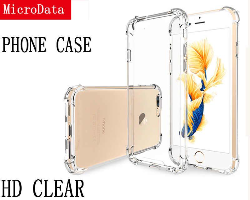 Trasparente custodia In Silicone Ultra Sottile Caso Molle di TPU Per 5S SE X XR XS 11 MAX Cassa Del Telefono Trasparente Per iPhone 6 6S 7 8 Più Anti Bussare Caso