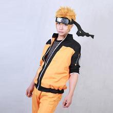 ФОТО hot finished japanese anime naruto shippuden uzumaki naruto cosplay costume ninja clothes naruto jacket any size available