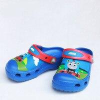 25 스타일 여름 만화 3D 스파이더 토마스 아기 소년 여자 아이 샌들 어린이 신발 소년 아이 젤리 샌들 소년 신발