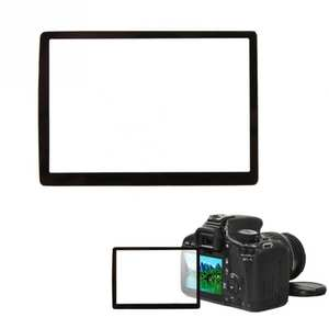 Fotga Camera LCD Screen Optical Tempered Glass Panel Film Protector For Canon 40D