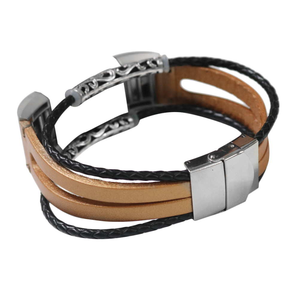 Replacement Leather Wristband Band Strap Bracelet For Fitbit Charge 2 Wristband bracelet Wrist Strap Smartwatch accessories