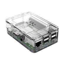 Elecrow Raspberry Pi 3 Model B Clear Case PC Protective Case Enclosure Box Protection for the Raspberry Pi 3 Free Shipping