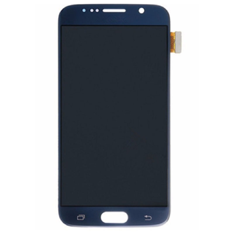 Pour Samsung S6 LCD affichage Super AMOLED écran de gravure dans l'ombre LCD pour Samsung S6 G920 affichage LCD écran tactile numériseur assemblée
