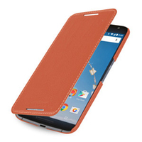 Genuine Leather Flip Phone Cover Case For Motorola Nexus 6 XT1100 XT1103 Protective Bag For Google