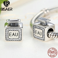 925 Sterling Silver Luxury Perfume Signature Scent Charms Pendant Fit Original Pandora Charms Bracelet DIY Fine