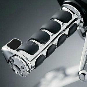 "Image 2 - 1"" Inch 25mm Handlebar Hand Grips For Honda Suzuki Kawasaki Yamaha Harley Road King Street Electra Glide XL 1200 883 Touring"