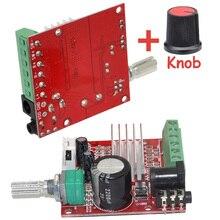 Wholesale Brand New Mini HI-FI High Power 2.1 DC10-18V Digital Amplifier Board 15W*2+30W Class D Amplifier with Knob-10000622