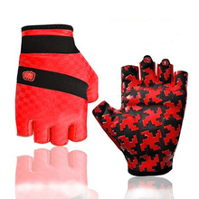 2016 Professional Women's Anti-slip bicycle cycling gloves in finger-less