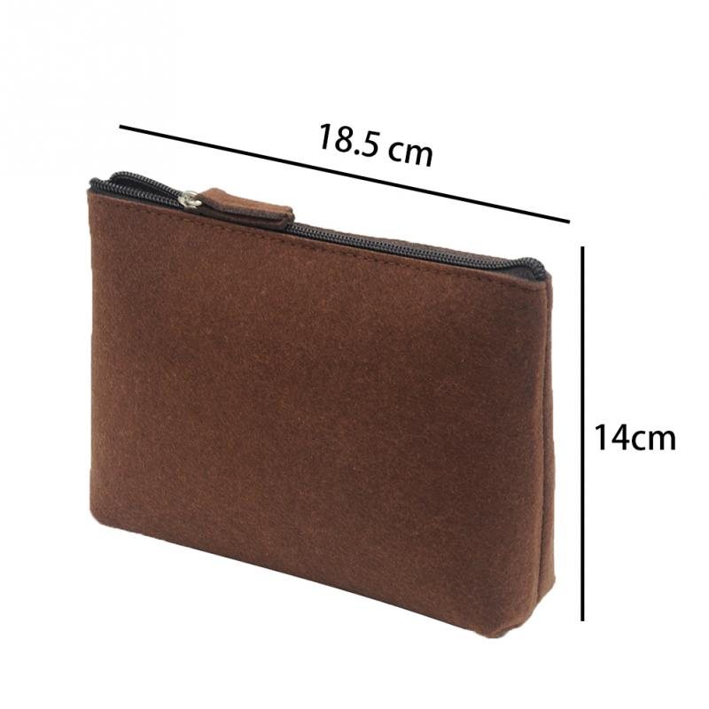 Universal Carrying Case Small Gadget Bag Small Money Wallet Women Men Travel Pouch Cable Power Bank Hard Disk Bag Felt Bags 15 in Card ID Holders from Luggage Bags
