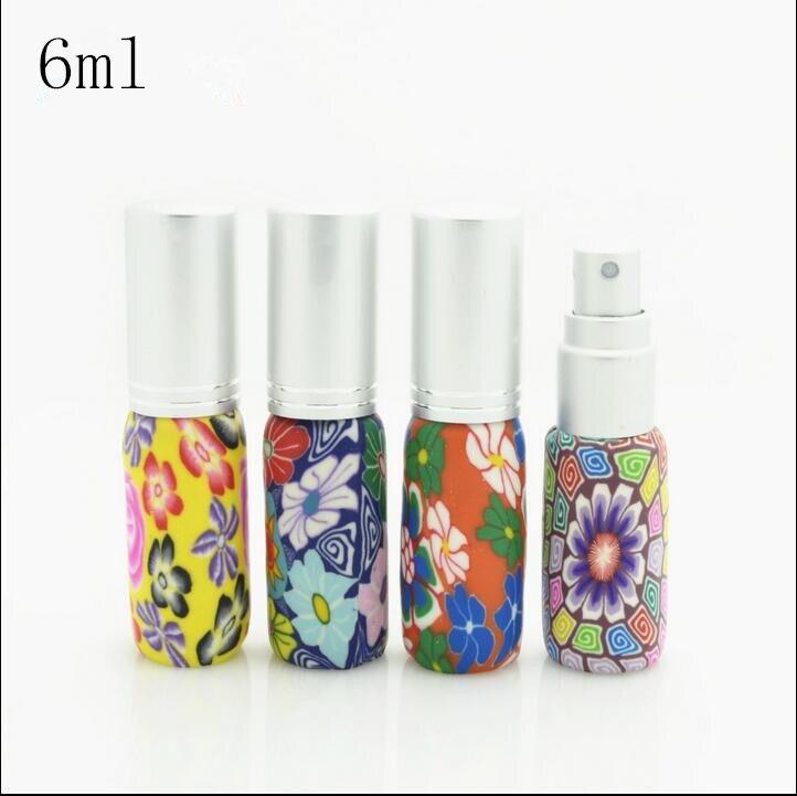 ᗐEnvío libre 6 ml flor patrón aerosol botella de perfume de las ...