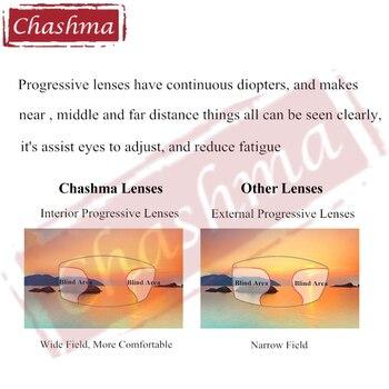 Chashma Brand Free Form Anti UV Anti Reflective Aspheric 1.67 Index Progressive Large Field Thin Multifocal Lenses Office Work