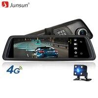 Junsun K759 Car Camera DVR 4G Special Mirror 10 Full Touch Android 5 1 ADAS WiFi