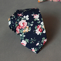 Nuevo Algodón Floral Impreso Lazos para Los Hombres de La Vendimia Masculina Banquete de Boda Novios Pocket Square Pañuelo Corbata Gravatas Corbata Corbata
